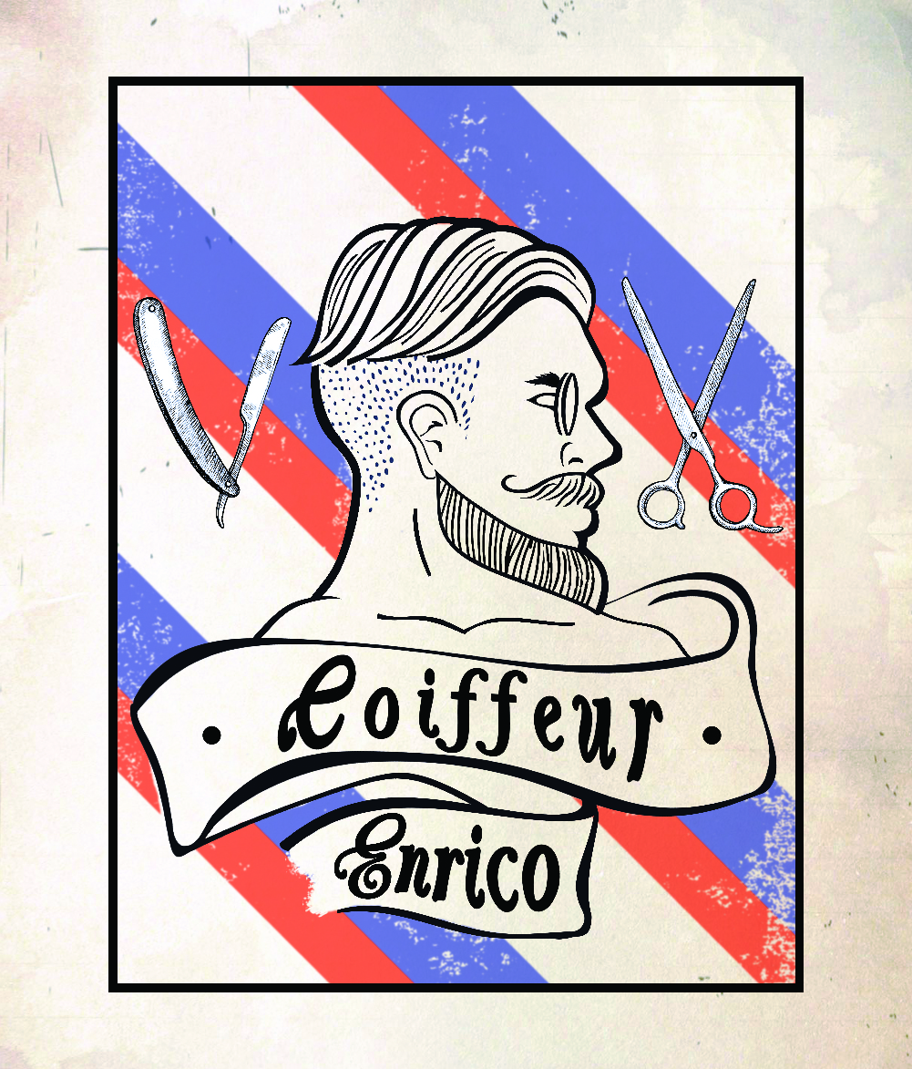 MF Graphic Projects - Coiffeur Enrico